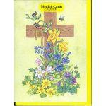 """メディチ イースターカード """"Cross with Bluebells, Wood Anemones"""""""