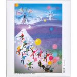 藤城清治「光と影展」 ジグソーパズル 『ラベンダー畑の夢』
