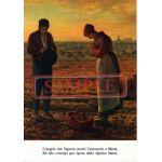 イタリア製 ポストカード 「晩鐘」