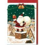 クリスマスカード(同絵柄5枚セット) S200-88