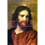イタリア製 ポスター「キリスト」(ホフマン)