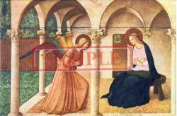イタリア製 ポストカード 「受胎告知」