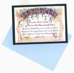 H.OISHI メッセージカード [ヨハネによる福音書]
