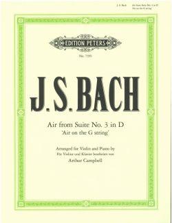 Bach,J.S., Air from Suite No. 3 in D 'Air on the G String', BWV 1068 <ヴァイオリン>