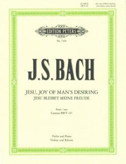 Bach,J.S., Jesu, Joy of Man's Desiring, from Cantata BWV 147 <ヴァイオリン>