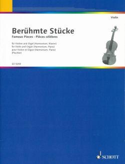 Beruhmte Stucke, fur Violine und Orgel (Harmonium, Klavier) <ヴァイオリン>