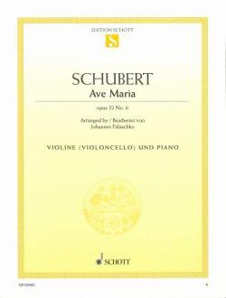 Schubert,F., Ave Maria D 839, op. 52/6 <ヴァイオリン>