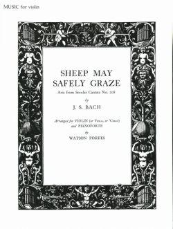 Bach,J.S., Cantata BWV 208, Sheep May Safely Graze <ヴァイオリン>