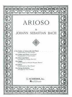 Bach,J.S., Arioso: from Cantata No. 156 <ヴァイオリン>