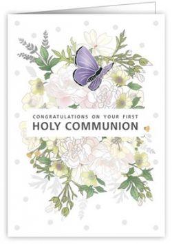オランダ製 初聖体用メッセージカード