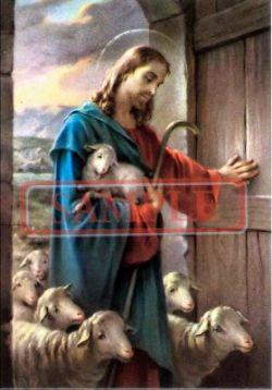 イタリア製 ポストカード 「キリストと羊」