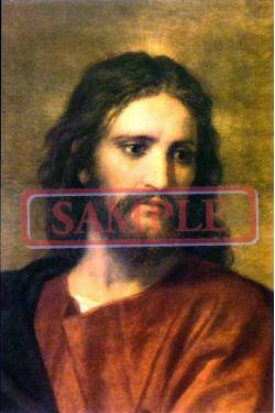 イタリア製 ポストカード 「キリスト」(ホフマン)